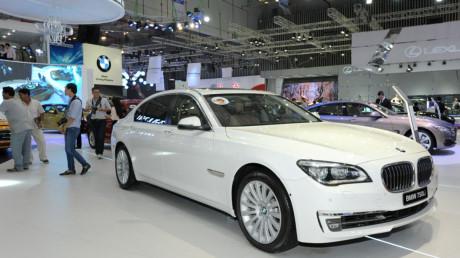 thuế nhập khẩu ô tô