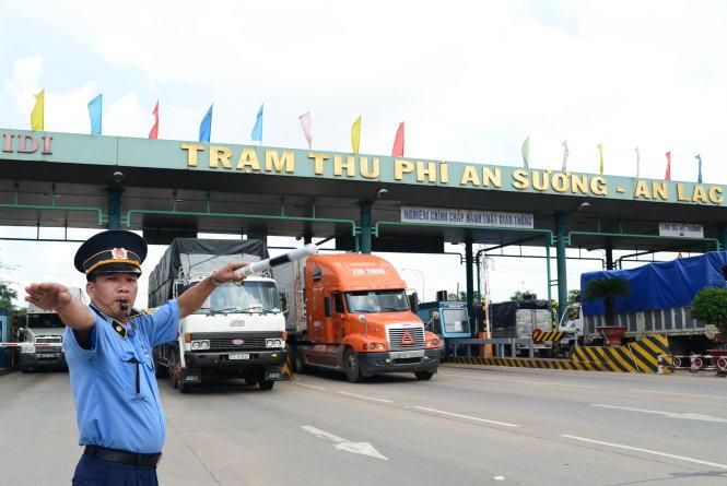 Tp.Hồ Chí Minh triển khai thu phí tự động tại 3 trạm BOT